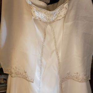 Mary's wedding dress